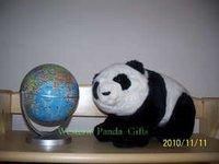 Free Shipping Christmas Plush Panda Gifts, cute and Cuddle Annimal Stuffed toys, lovable  panda plush