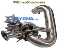 Water Jacketed Turbo Exhaust Systems and Components Tubular Exhaust Manifold