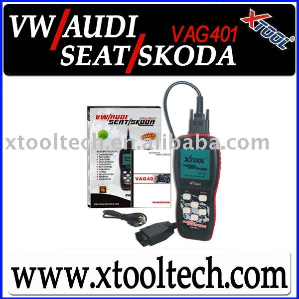 [VAG401] Professional Scan Tool for VW/AUDI/SEAT/SKODA,Coding,SRS,Airbag(China (Mainland))