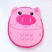 Free Shipping USB pig carbon vibration massage cushion/ USB carbon vibration massager, MOQ:1 piece