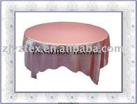 "sell 90*90""  pink satin overlay /table overlays"