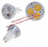 GU10 3-LED 240-Lumen 3500K Light Bulb - Warm White (220V)