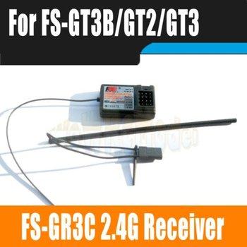 Flysky FS-GR3C FS-GR3E 3CH 2.4Ghz Receiver Fo FS GT3B GT2  GT3C GT2B With Failsafe