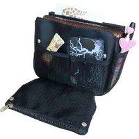 Free shipping NEW makeup / MP3 phone storage Organizer Multi Bag Purse Hop Bag Handbag Insert, 10pcs/lot