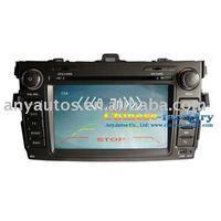 DVD+GPS+Bluetooth+Tv+Radio+ipod+CARD Car DVD Player for Toyota Corola