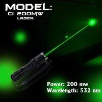 UltraFire C1 200mw Flashlight Shape Green Laser 200mW 532nm