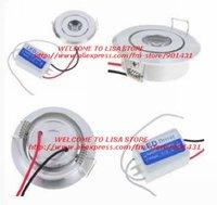 Free shipping, 5pcs/ lot.3W 120-Lumen 6800K White LED Spot Light Module (AC 85~265V)
