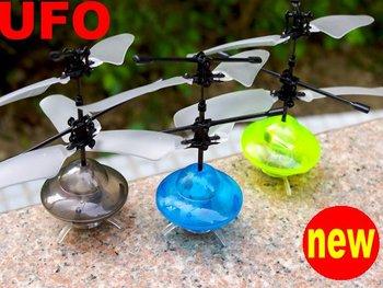 new ! UFO Led RC UFO Mini Gyro UFO Remote Control TOY Aerobat Peg-top,glow flying saucer,glow flying disk ,CHRISTMAS GIFT