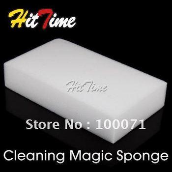 10Pcs/lot Magic Sponge Clean Cleaner Cleansing Eraser Car Wash  #3248