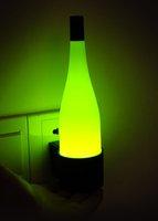 Free Shipping 10pcs/lot auto sense LED  liquor jar night lamp/ intelligent night light
