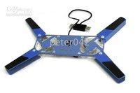 Free shipping+50pcs /lot Folding Cooler / USB Laptop Cooler ,notebook cooler  !!