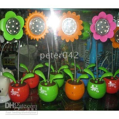 Free shipping+20 pcs LED Office Business USB Lamp /sunflower ,LED products(China (Mainland))