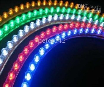 Free shipping+10pcs/lot +great wall car LED Strip Light Model:LSL4001-X 90CM* 96LED!!