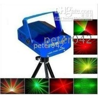 Free shipping+10pcs mini-meteor laser stage lighting laser color red & green!!