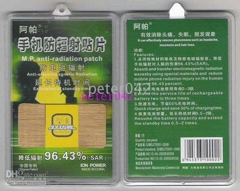 FREE SHIPPING+ 100pcs/lot hot sell Anti-Radiation Patch Radiation Reduction Extend for Mobile Laptop!