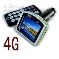 6pcs/lot Car MP4 1.8 wide screen / film/4 G  can be inserted SD Card T27!!