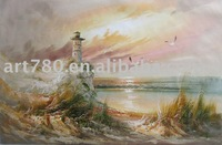 landscape oil painting on canvas art 100% handpainted oil painting for wholesale on line