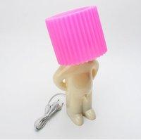 Free Shipping 3pcs/lot Mr.P shy boy desk lamps with big head