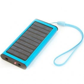 Free Shipping New 1350mA Emergency Solar Power Charger for Cell Phones Digital Cameras MP3/MP4 Players PDAs