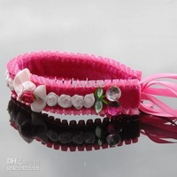 Mix 30pcs,Girl's fashion fuchsia hair band, hair bows,lace,headband, hairlaces,hair straps,flower