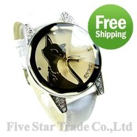 Free Shipping/Accept Credit Card 20pcs Best for lady&girl as new year gift brand new fashion student wristwatch watch