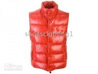 2011 Popular Men's Ski Goose Outwear Down Parka Jackets Red all size