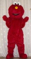Newest fru mascot costumes elmo costume / elmo mascot adult size halloween costume Free Shipping