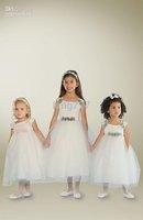flowers, white (3) fabric material forging Kids cute beautiful
