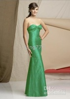 Strapless bridesmaid dress/cooktail/evening dress/prom/party dress/Custom size NO.450