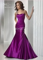 Christmas Hot Sale! store Purple Quinceanera prom ball Evening dress Lace-up Size*4-6-8-10-12-14