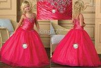 Christmas wedding/party/flower girl dress/Girls' Clothing/princess dress/custom size F34