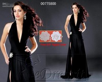 Halter Evening Dress Ball Gown UK 6-UK20 Dress it Black