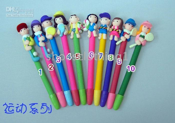 Free Ship resonable of creative new ball pen as Children&#39;s Christmas gift(China (Mainland))