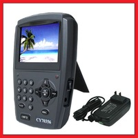 "Free Shipping!!! 3.5"" TFT LCD Portable Digital Satellite TV Receiver & Satellite Finder Signal Meter"