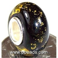 925 silver core murano beads,lampwork glass beads PMB0012