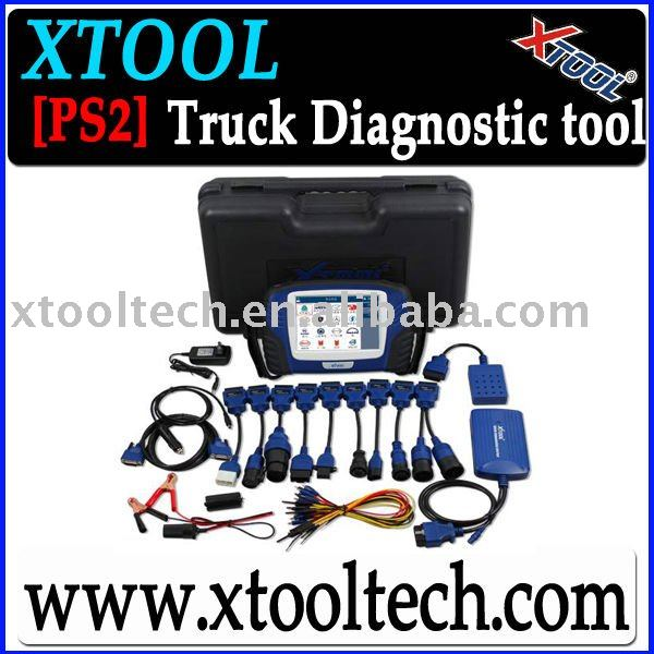 [XTOOL]PS2 Diagnostic tool For Truck With 2011 software(China (Mainland))