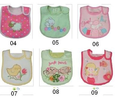 Wholesale - - The Newest bibs baby bib pinnies Carter`s Bibs Infant towels set muffles wipes -WX785A(China (Mainland))
