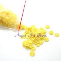 Free Shipping wholesale 3000pcs/lot mix 3d nail sticker (polymer clay) for nail art acrylic