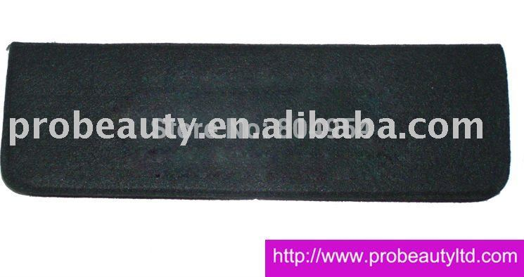 free shiping +10pcs black polyester heat protective mat(China (Mainland))