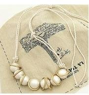 free shipping Korean seven White pearl ring rope fashion sweater chain necklace