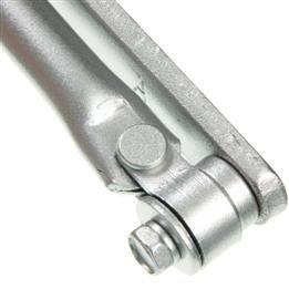 OUBAO Aluminum Adjustable Closing & Latching Door Closer 602