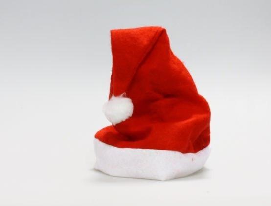 [CPA Free Shipping] Wholesale Non-Woven Cloth Christmas Cap / Santa Claus Xmas Hat (SE-28)(China (Mainland))
