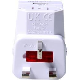 Universal Travel AC Plug Adapter USB Charger