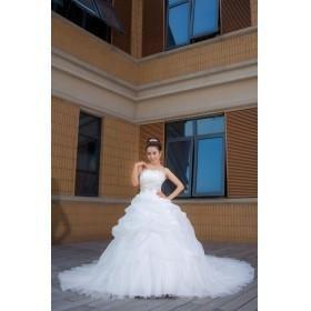 Shell grande cauda do vestido de casamento de moda nova versão, europeu do palácio conju(China (Mainland))