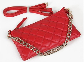 Newest   ladies   genuine leather sling bag & Free shipping