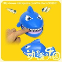 Freeshipping_Wholesale_10pcs/lot New Shark Mouth Dentist Bite Game Toy Set Party w/Sound+