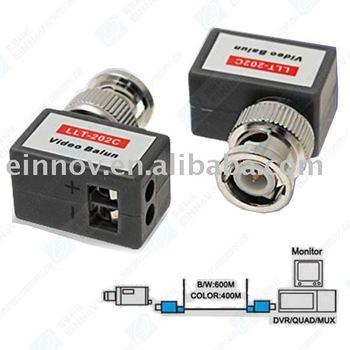 CCTV Passive Video Balun UTP Transceivers BNC Cat5 F23
