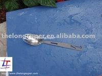 Titanium Outdoords goods-Titanium flatwares-Titanium forklike Eagle Spoon(TLS-OD-A027)