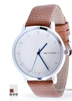 novelty anticlockwise watches with anticlockwise scale and pointer romantic lover watches of women's watch EMS freeshipping