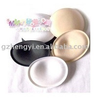 Free shipping, hot selling, round thick sponge bra pad material filling, 3-color